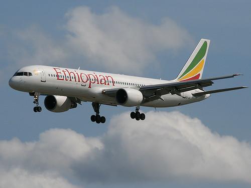 Ethiopian B757