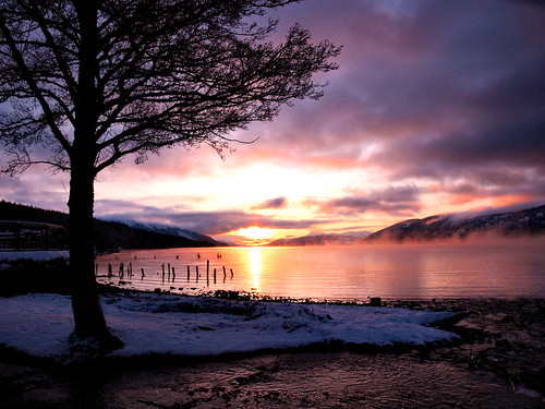 Loch Ness Sunset