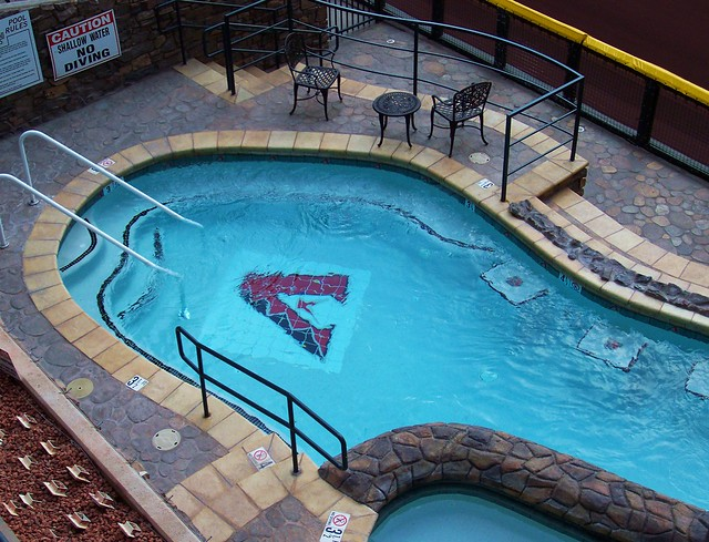 chase field swimming pool flickr photo sharing