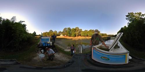 panorama fish state bass pano harvest southcarolina 360 striped hatchery fishhatchery equirectangular cohencampbell