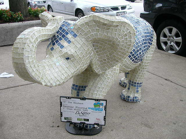 Mosaic Elephant | Flickr - Photo Sharing!