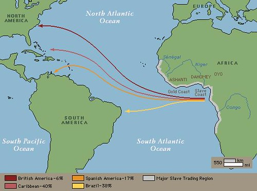 Map of middle passage | Flickr - Photo Sharing!