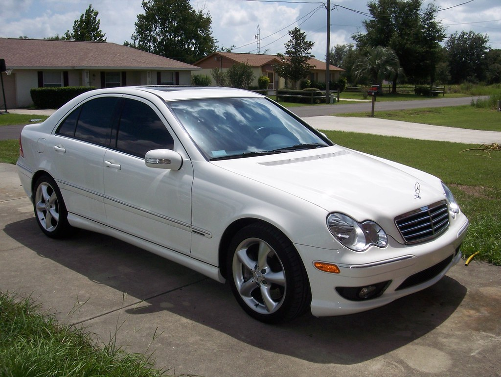 Mercedes c230 kompressor coupe 2005 for Mercedes benz c230 kompressor 2005