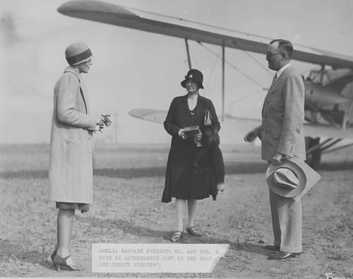 Earhart , Amelia