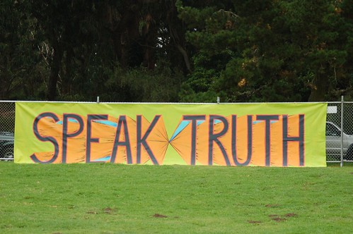 Speak Truth Banner