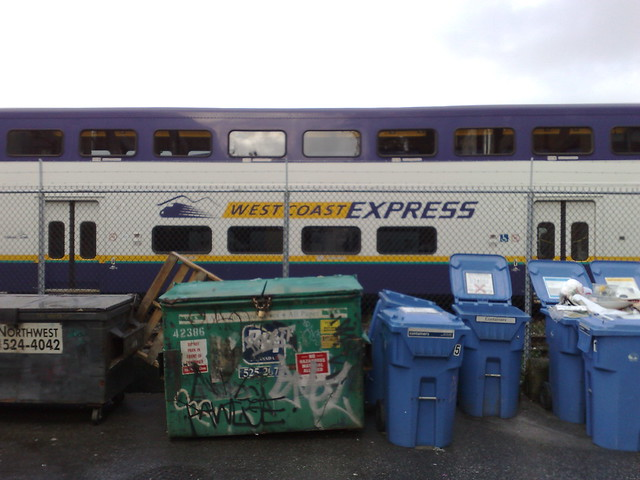 West Coast Express and Trash