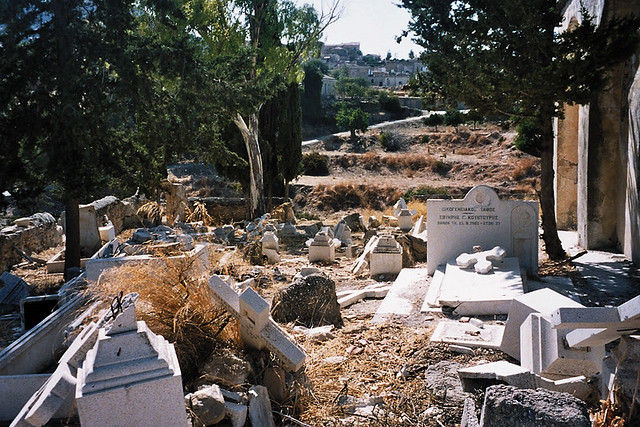 St (Ayia) Photou cemetery, Akanthou, occupied Cyprus