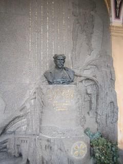 Image of Antonín Dvořák. europe prague praha czechrepublic easterneurope vyšehrad dvořák vyšehradcemetery vyšehradskýhřbitov