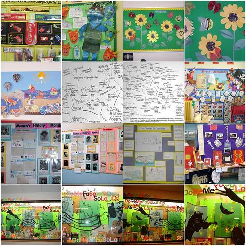 Classroom Display Design ~ Planning displays classroom