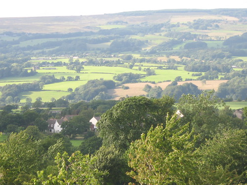 Clayton-le-Dale and Copster Green from the Bonny Inn, Salesbury