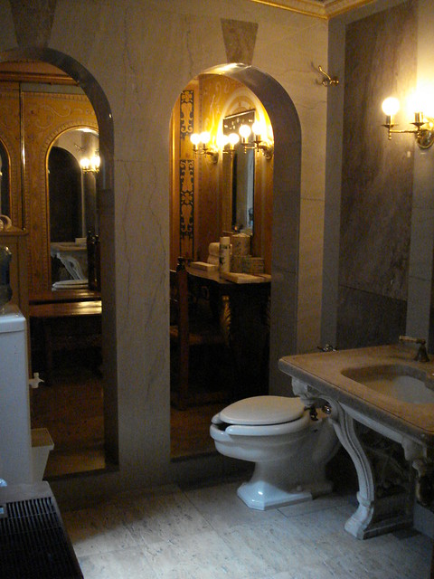 Guilded bathroom at hearst castle flickr photo sharing for Bathrooms in castles