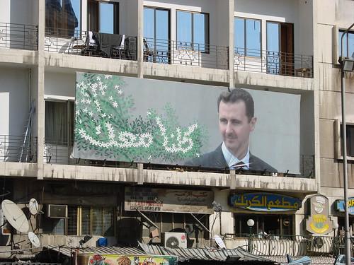 Bashar al-Assad propaganda