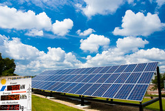 solar panel, sunlight, solar energy, solar power, sky,