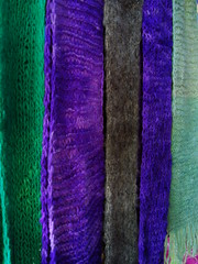 art, textile, wool, purple, violet, knitting, thread, scarf, woolen, blue,