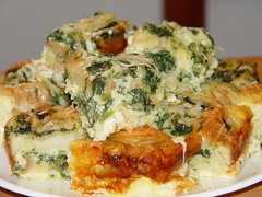 meal, breakfast, vegetable, frittata, baked goods, food, dish, cuisine, quiche, spanakopita,