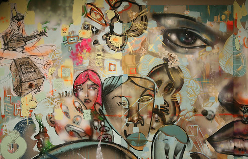Facebook hosts lunch 2 0 developer happy hour for David choe mural