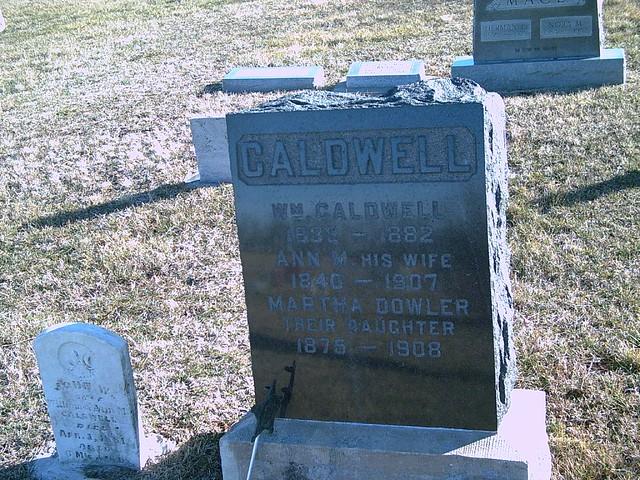 Header of Alexander Caldwell