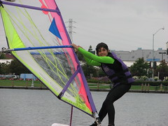 Windsurfing in Foster City