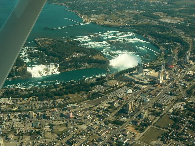 ~Niagara Falls from the air~