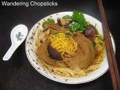 Mi Vit Tiem Chay (Vietnamese Vegetarian Chinese Five-Spice Duck Soup with Egg Noodles) 9