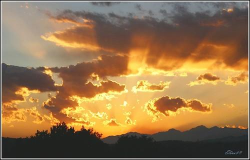 sunset sky sun canon tramonto cielo sole varese sestocalende 21018
