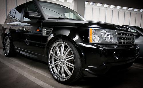 black stance range rover wheel rim