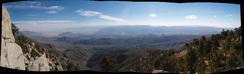 One last southwest view toward Borrego Springs and Coyote Canyon