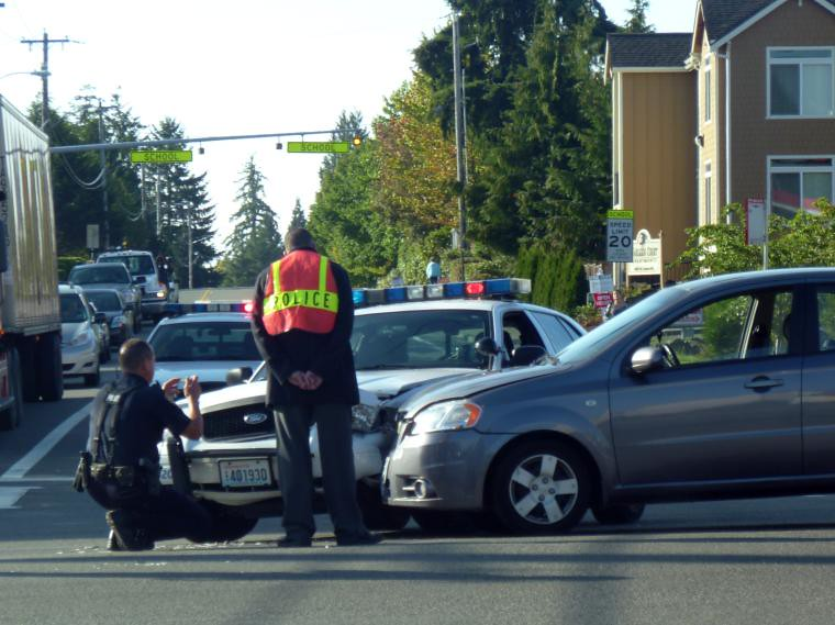 Car Accident Involving Everett PD (NLEAF) | Car Accident Sce… | Flickr