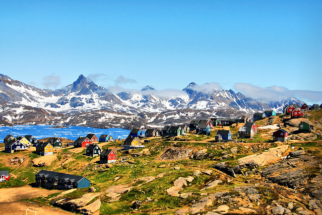 Localidad de Tasiilaq, Groenlandia.
