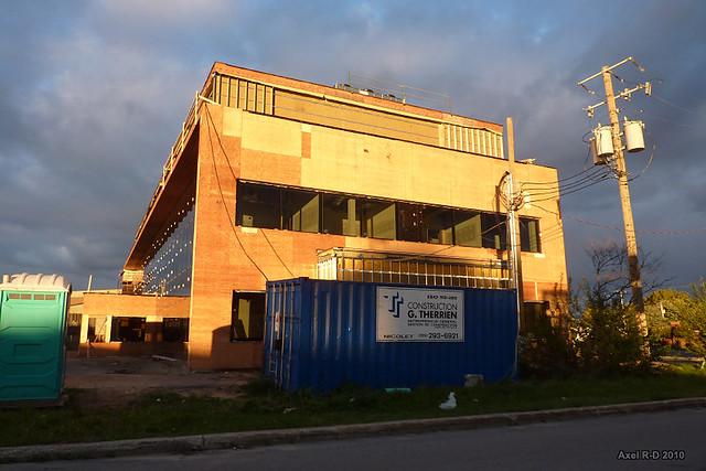 Trois rivi res construction de la nouvelle caisse for Caisse de jardin