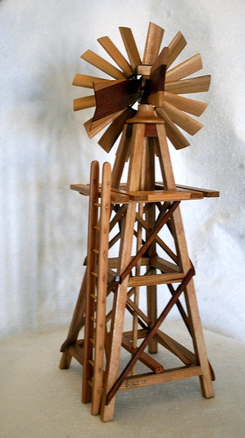 Handmade windmill