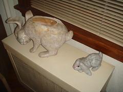 art, animal, rabbit, mammal,