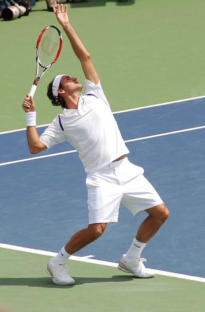 Federer Service - a gallery on Flickr