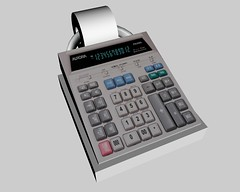 cash(0.0), office equipment(1.0), calculator(1.0),