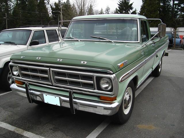 1971 Ford F 250 Ranger Xlt Pickup Truck Flickr Photo