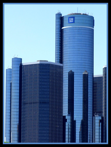Renaissance Center & GM World Headquarters