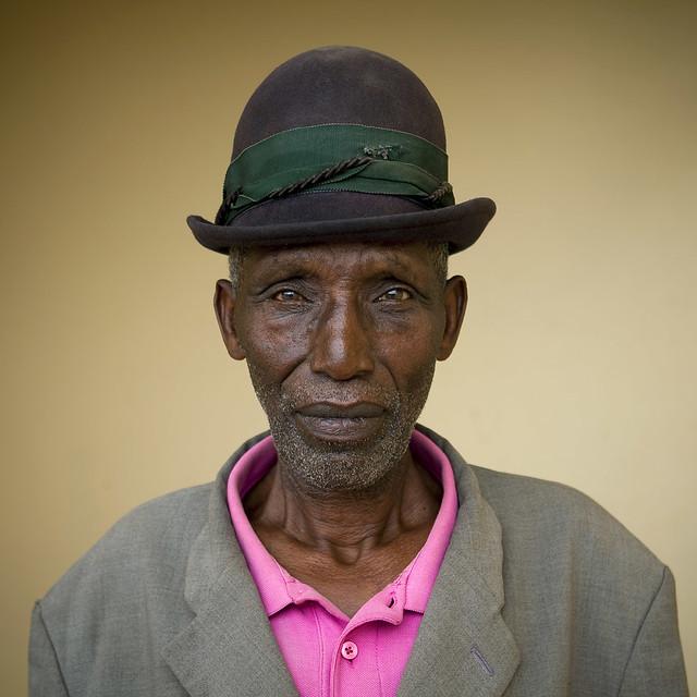 Mister Seritier in Lake Kivu area, Rwanda