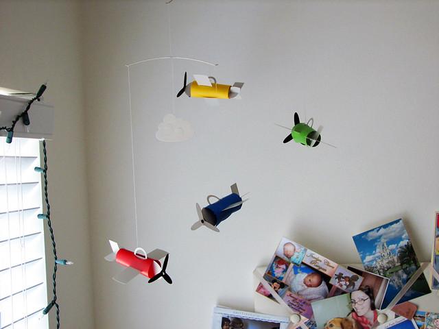 flensted airplane mobile flickr photo sharing. Black Bedroom Furniture Sets. Home Design Ideas