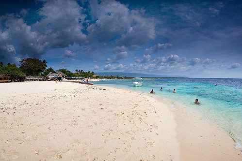 White beach,  Cebu