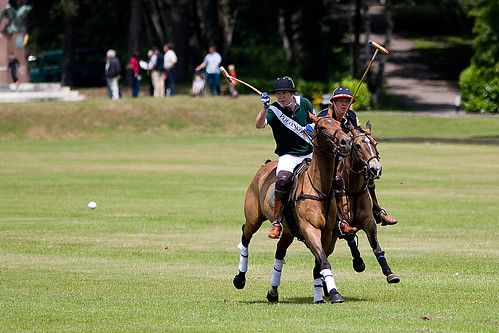 Polo at Sandhurst