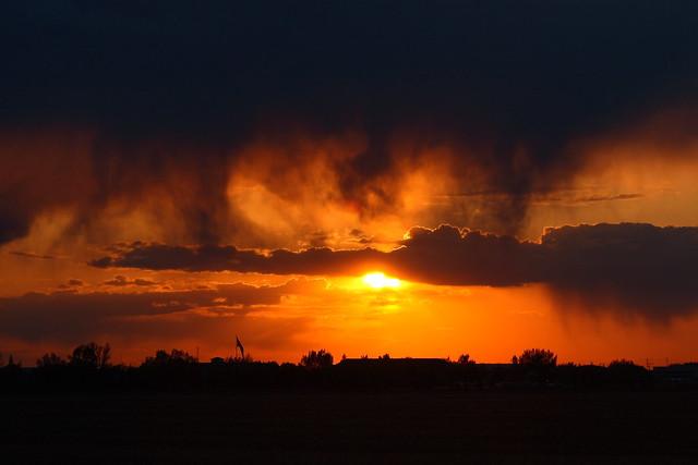 Sunset Clouds And Orange Over Regina Flickr Photo