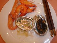 4 Aug: Seafood dinner