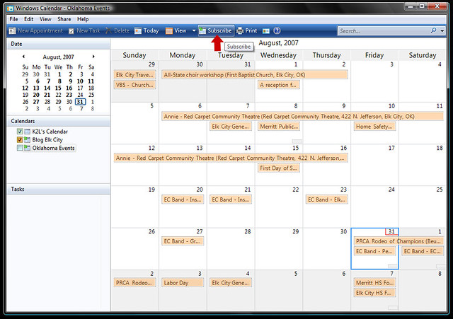 Windows Calendar | Flickr - Photo Sharing!