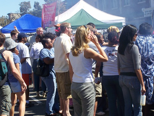 People at the H Street Festival