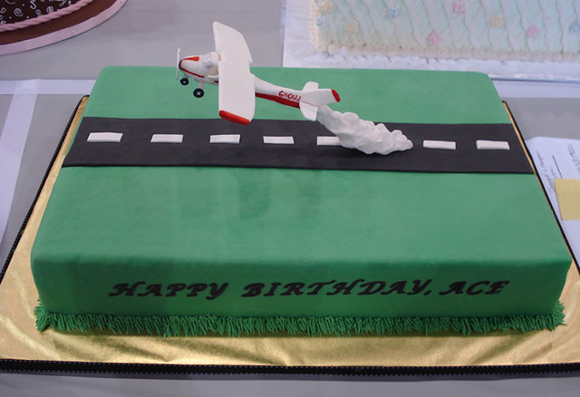 1471650301 11b8378b39 for Airplane cake decoration