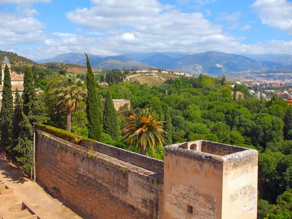 Granada and the Sierra Nevada Mountains 2