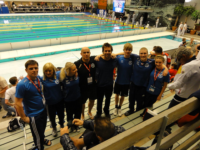 Us and Alexander at the Stockholm 2010 World Cup