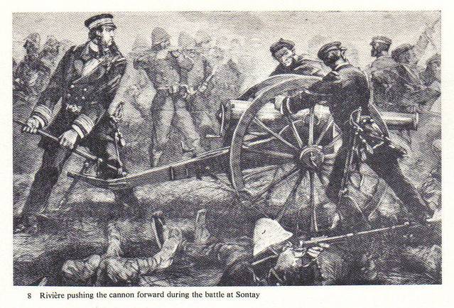 Henri Rivière during the battle at Sontay