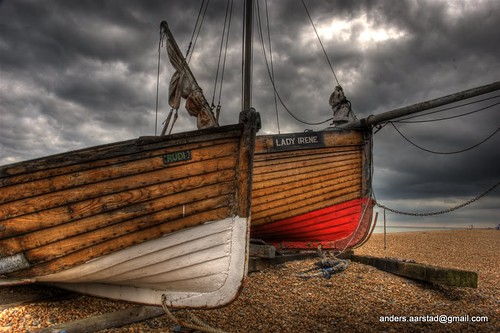Old Wooden Boats England