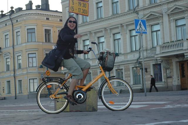 Una bici Jopo